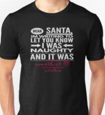 I Was naughty Santa Unisex T-Shirt