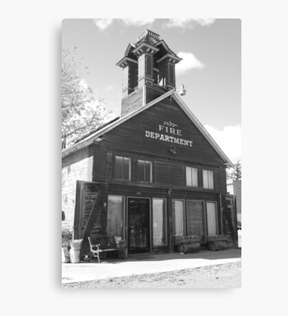 The Old Ridgway Firehouse Canvas Print