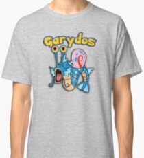 Gary the snail and Gyarados  mashup = Garydos Classic T-Shirt