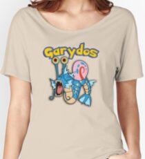 Gary the snail and Gyarados  mashup = Garydos Women's Relaxed Fit T-Shirt