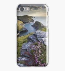 Cornwall : Boscastle Harbour iPhone Case/Skin