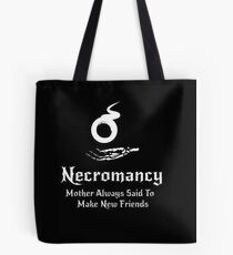 Dungeons and Dragons Necromancy  Tote Bag