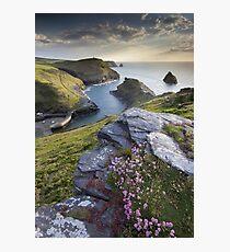 Cornwall : Boscastle Harbour Photographic Print