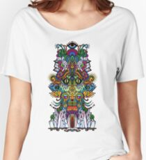 psychedelic illustration Women's Relaxed Fit T-Shirt