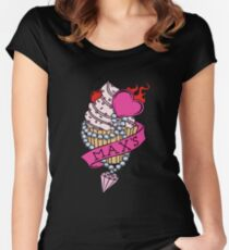 Max's Homemade Cupcakes Women's Fitted Scoop T-Shirt
