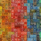 Colorful Plates from All 50 States by designturnpike