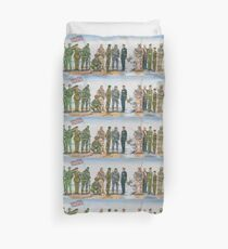 Royal Marine uniforms 1972 - 2014 Duvet Cover