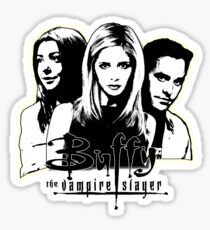A Trio of Scoobies (Willow, Buffy & Xander) Sticker