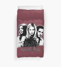 A Trio of Scoobies (Willow, Buffy & Xander) Duvet Cover