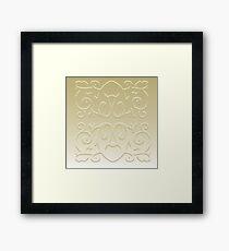 Simplistic Framed Print