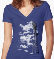 The Optimist Women's Fitted V-Neck T-Shirt