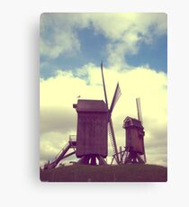 Wind mills of Villeneuve d'Ascq Canvas Print