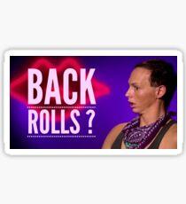 Back Rolls? Sticker