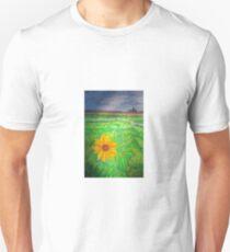 """""""Sunflower in Skagit Valley"""" Unisex T-Shirt"""