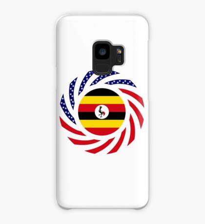Ugandan American Multinational Patriot Flag Series Case/Skin for Samsung Galaxy