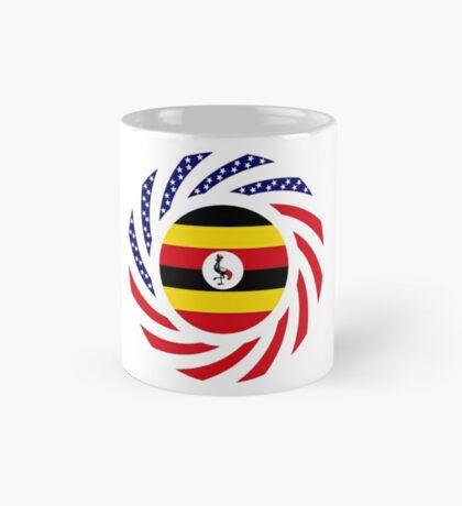 Ugandan American Multinational Patriot Flag Series Mug