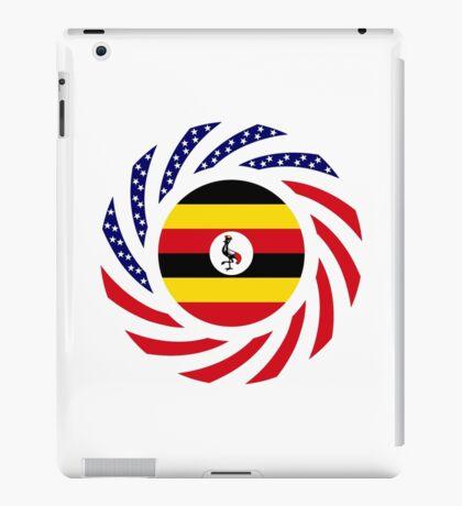 Ugandan American Multinational Patriot Flag Series iPad Case/Skin