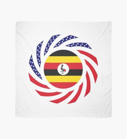 Ugandan American Multinational Patriot Flag Series Scarf