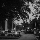 Broad Street in the Evening by WeeZie