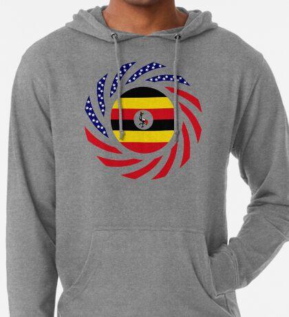 Ugandan American Multinational Patriot Flag Series Lightweight Hoodie