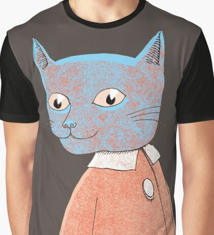 Cat Child Takes a Walk Graphic T-Shirt