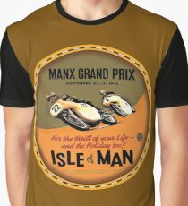 Isle of Man TT Races UK Graphic T-Shirt
