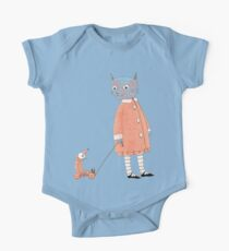 Cat Child Takes a Walk One Piece - Short Sleeve