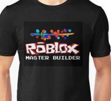Roblox Master Builder Design Unisex T-Shirt