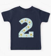 """Kolarkub number """"2"""" in blue  Kids Clothes"""