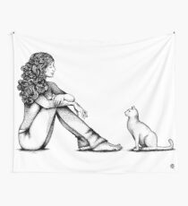 Nonverbal Communication Wall Tapestry