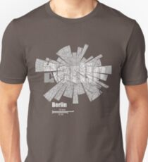 Berlin Map Unisex T-Shirt