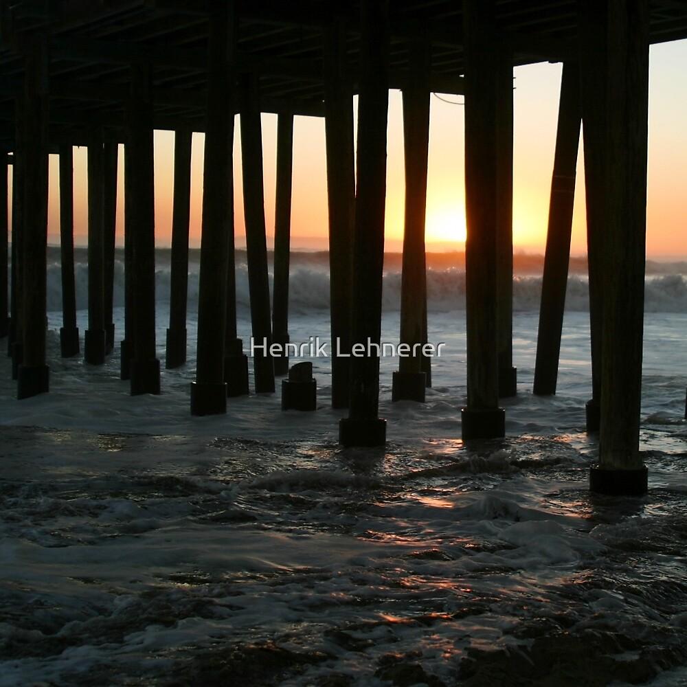Sunset Under The Ventura Pier by Henrik Lehnerer