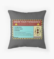 Know your paradoxes! Throw Pillow