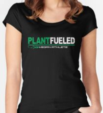 Vegan Athlete  Fitted Scoop T-Shirt