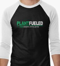 Vegan Athlete  Men's Baseball ¾ T-Shirt