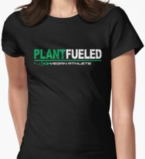 Vegan Athlete  Women's Fitted T-Shirt