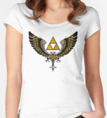 Tri Winged Women's Fitted Scoop T-Shirt