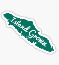 Vancouver Island Grown Sticker