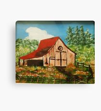 Red Roof Barn Canvas Print