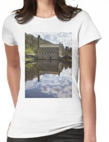 Gibson Mill in Hardcastle Crags nature park, Womens Fitted T-Shirt