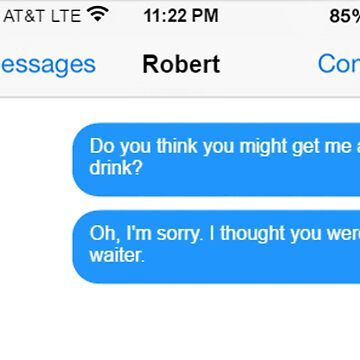 Dowager Texts: Dowager burns Robert  by jackiekeating