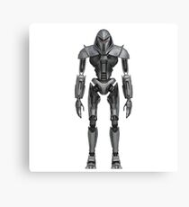 Cylon Centurion Canvas Print