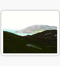 Ireland - Inishowen Peninsular, Donegal, Ireland Sticker