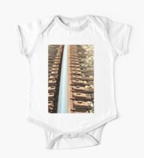 Train Track One Piece - Short Sleeve