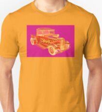 Model A Ford Pickup Hotrod Pop Image T-Shirt