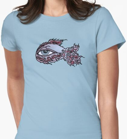 fiSheYe Womens Fitted T-Shirt