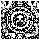 Decorative skull by baggelboy