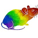 Rainbow Mouse by moietymouse