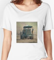 Gun Tractor  Women's Relaxed Fit T-Shirt