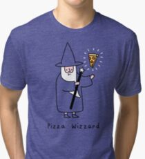 Pizza Wizzard Tri-blend T-Shirt